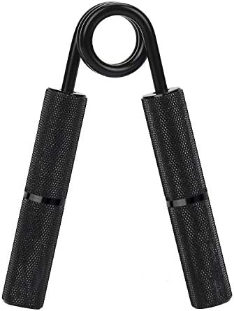 YZLSPORTS Metal Black Heavy Hand Grip and Wrist Strengthener Gripper- Resistance from 50-300 LB Metal Exerciser for Hand, Forearm, and Fingers