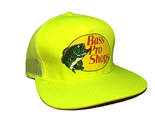 Bass Pro Shops Mesh Cap Safety Yellow