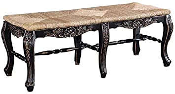 Stupendous Amazon Com Eurolux Home New French Country Bench Window Theyellowbook Wood Chair Design Ideas Theyellowbookinfo