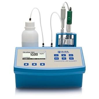 Hanna Instruments HI84442-02 Total Titratable Very Low Alkalinity Titrator, 230V, +/-0.01 pH Accuracy, 0.1 pH/0.01 pH Resolution