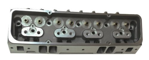 (Proheader PM120S - SBC Small Block Chevy Straight Plug Aluminum Cylinder Heads)