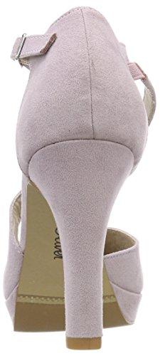 Morado Tobillo de Oliver Mujer s Zapatos Correa para 24402 y Lilac con Tacon AWq8RwxP