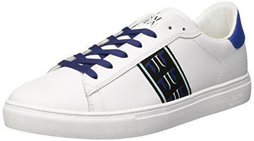 U005 Sneakers Gymnastique Jeans Bleu l Homme Trussardi Chaussures De Blue Hfndq5xxz