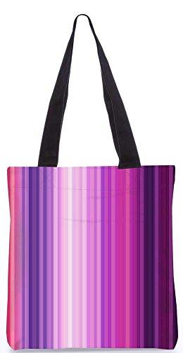 """Snoogg Multicolor-Design Einkaufstasche 13,5 X 15 In """"Einkaufstasche Dienstprogramm Trage Von Polyester Canvas"""