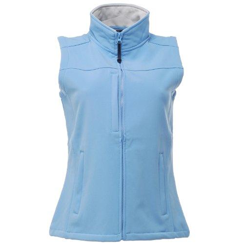 Wind Repellent Flux Softshell amp; Regatta Blue Ladies Sleeveless Resistant Water Womens Jacket Bodywarmer Oxford x8gvRw