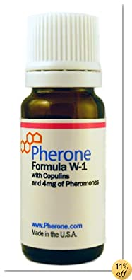 Pherone Formula W-1 Pheromone Cologne for Women to Attract Men, with Human Copulins and Pure Human Pheromones