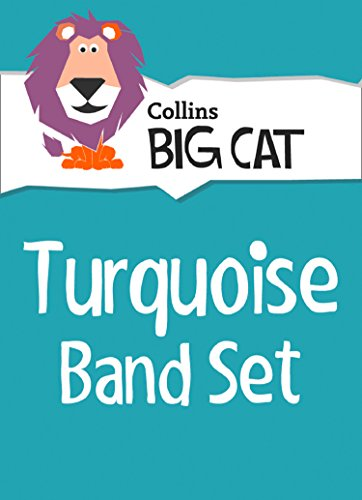 Turquoise Cats - Turquoise Starter Set: Band 07/Turquoise (Collins Big Cat Sets)