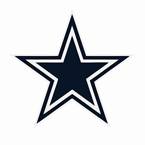 (Crazy Discount Vinyl Sticker Decal Dallas Cowboys NFL for Windows Car Cell Phone Bumpers Laptop Wal,)