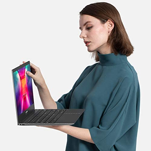 "XIDU Tour Pro 12.5"" Touchscreen Laptop, 2K(2560x1440) IPS Display, Backlit Keyboard, Fingerprint Reader, Intel Celeron 3867U, 8GB RAM, 128GB eMMC, Windows 10 Home (Space Gray)"