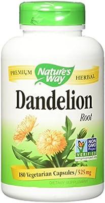 Natures Way, Dandelion, 180 Veggie Capsules
