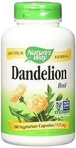 Nature's Way Dandelion Root - 180 Vegetarian Capsules