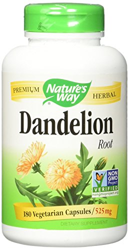 Dandelion Root Capsules (Dandelion Root Nature's Way 180 VCaps)