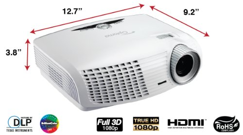 optoma hd25 lv 1080p 3d dlp home theater projector in the. Black Bedroom Furniture Sets. Home Design Ideas
