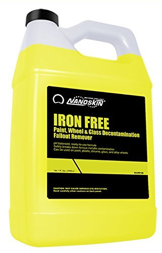 Nanoskin NA-IFE128 Iron Free Paint, Wheel And Glass Decontamination Fall Out Remover - 1 Gallon