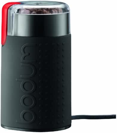 Bodum Bistro Electric Blade Coffee Grinder, Black