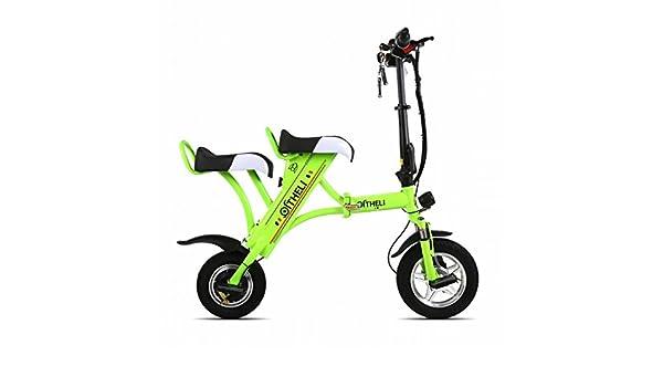 XC Pequeña Bicicleta Eléctrica Plegable Mini Batería Femenina ...