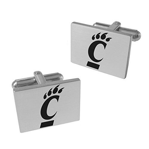 College Jewelry Cincinnati Bearcats Stainless Steel Original Style Cufflinks ()