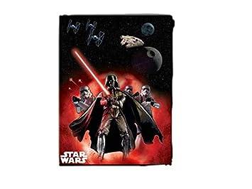 ALMACENESADAN 2281; Mantel Fiesta o cumpleaños Disney Star Wars, Darth Vader; Dimensiones 120x180 cm; Producto de plástico.