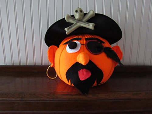 Pete the Pirate Pumpkin - Pirate Pumpkin