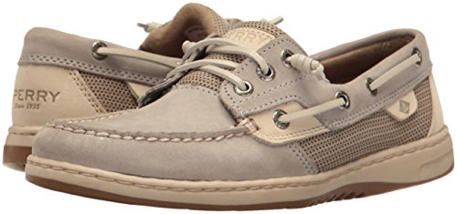 Rosefish Women's Sperry Light Grey Boat Shoe fRwS5q