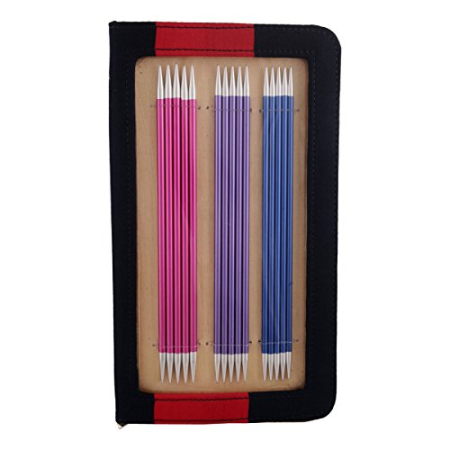 Zing: Knitting Pins: Sets of 5: Double Ended: Set: 20cm by Knit Pro