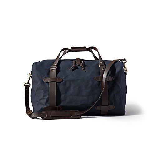 Filson Medium Duffel (Navy) (Filson Duffle Bag Twill Rugged)