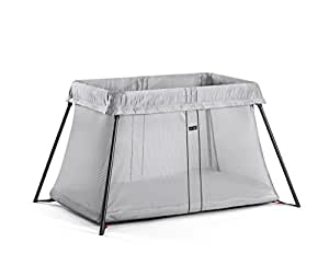 BABYBJORN Travel Crib Light, Silver