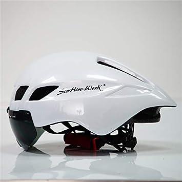 VVLOVE Casco de Bicicleta Riding Seguridad Casco de Bicicleta Resistente al Polvo Cubierta Adulto Casco de