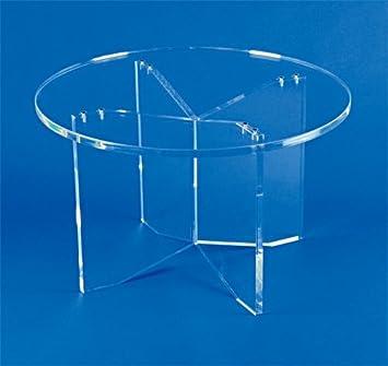 Form Xl Table Ronde Transparente Amazon Fr Cuisine Maison