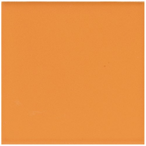 American Olean Tile Q077SCL3401 Mandarin Orange B&M Group 4 Tile, 4.25' x 4.25' 4.25 x 4.25
