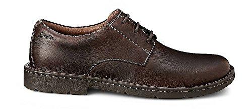 marrone Various uomo Brown Leather Scarpe Stratton Clarks Brown 261025 stringate Way 1RqX0WYgw