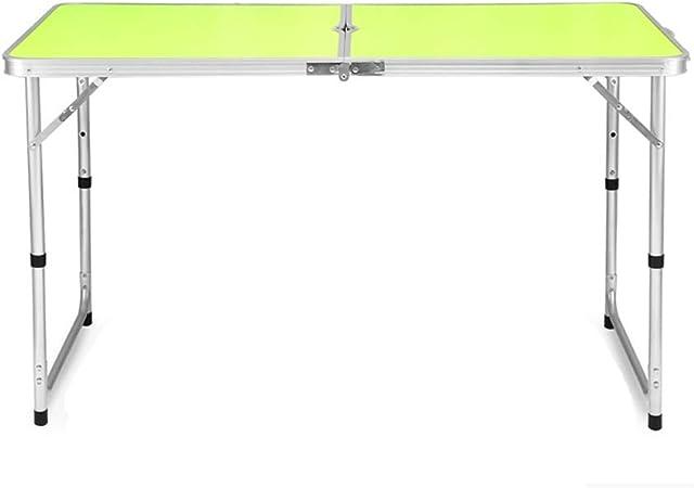 ZXQZ zhuozi mesa plegable rectangular de aleación de aluminio ...