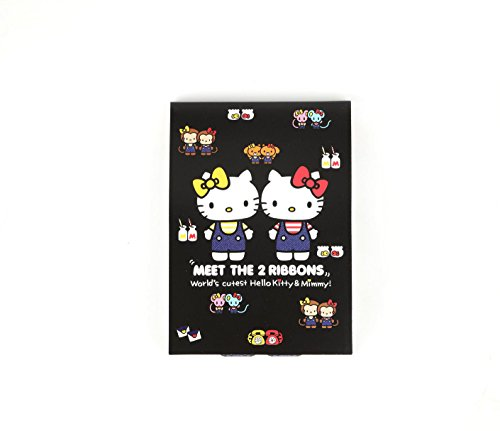 SANRIO Hello Kitty and Mimmy Memo Pad: 2 Ribbons