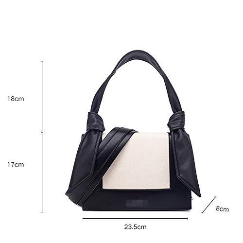Versión Coreana Nueva Del Salvaje Bolsa Correa Mujer Femenino La Hombro Handbag a Ancho Bolso De C Mensajero SxwXfqnp1