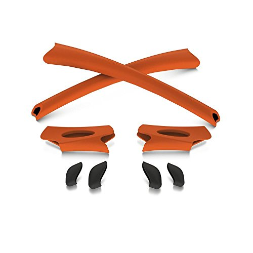 Oakley Flak Jacket Eyewear (Oakley Flak Jacket Earsocks / Nosepads Kit Orange)