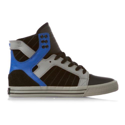 Supra  S18153-BGB-9, Baskets mode pour homme Schwarz/Grau/Blau 42,5 EU