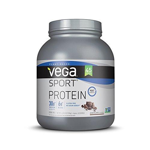 Vega Sport Protein Powder, Chocolate, 4.36 lb, 45 Servings