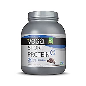 Vega Sport Protein Powder, Chocolate, 4.36 lb, 45 Servings