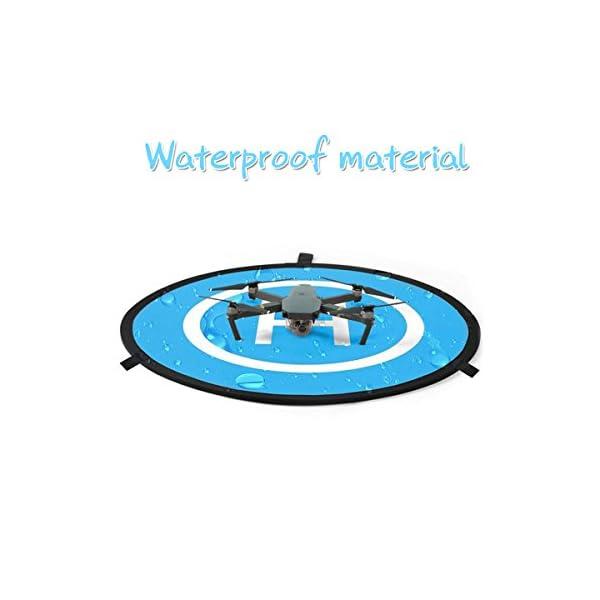 55 cm Piattaforma di Atterraggio Drone Landing Pad Adatto a DJI Mavic Air, Tello, DJI Spark, Dobby 4 spesavip