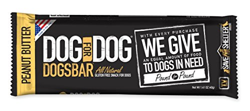 DOGSBAR Peanut Butter Dogs 1 41 Ounce product image