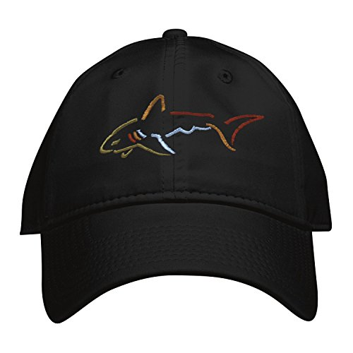 Greg Norman Performance Adjustable Hat Unstructured, Black from The Game