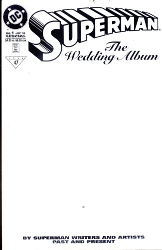 Superman Wedding Album #1