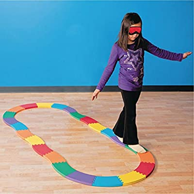 S&S Worldwide Balance Builder Beam : Gymnastics Balance Beams And Bases : Sports & Outdoors