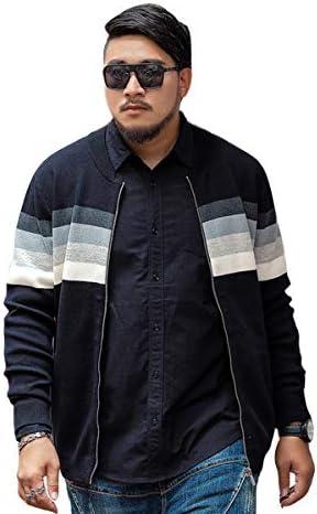 メンズ カーディガン 大きいサイズ メンズファッション 2XL-7XL 秋 冬 ニット コート 長袖 セーター