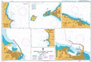 BA Chart 140: Italy, Crotone, Gallipoli and Bari with Approaches by UKHO