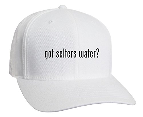 got-selters-water-adult-baseball-hat-white-small-medium