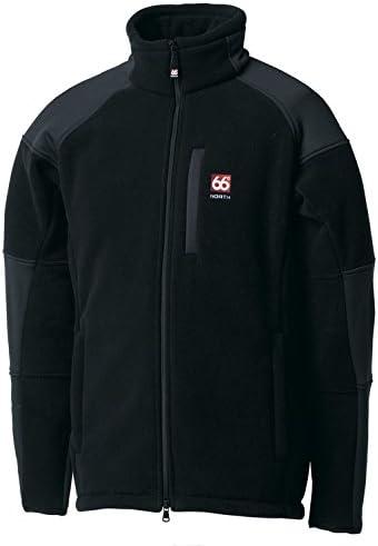 66 NORTH Tindur Technical Jacket black M: : Bekleidung