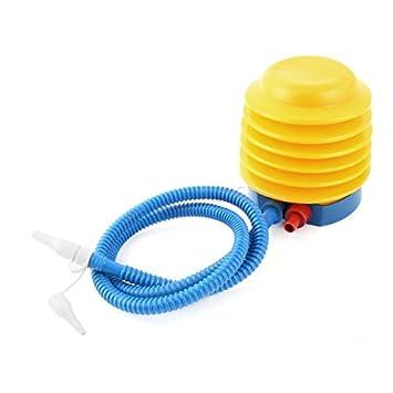 eDealMax Globo inflable bola Accesorios Para inflar Con aire del flotador juguete Bomba de Pie Azul