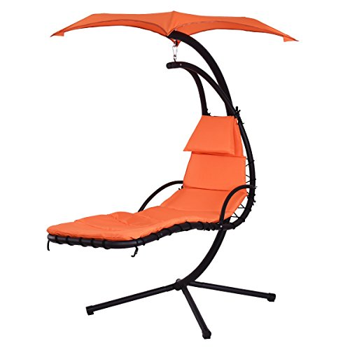 Giantex Hanging Chaise Lounge Hammock