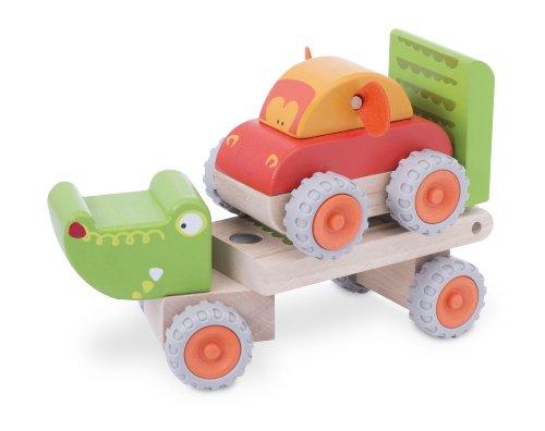 Wonderworld Crocodile Trailer Toddler Flatbed product image